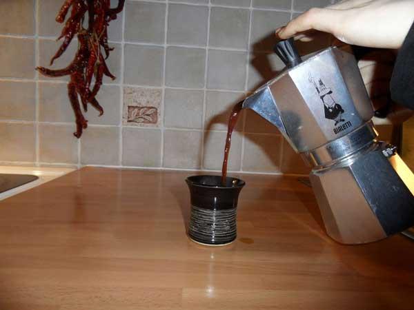 طرز استفاده از قهوه جوش گازی