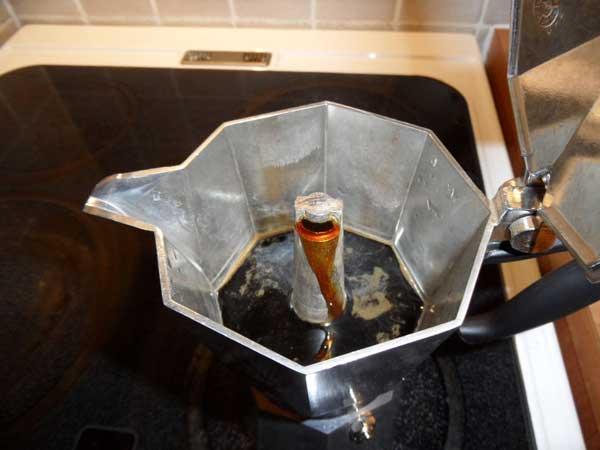 ساخت قهوه با دستگاه قهوه جوش گازی