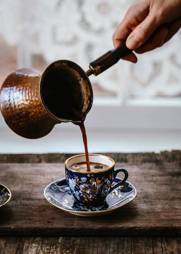 طرز تهیه قهوه ترک استانبولی