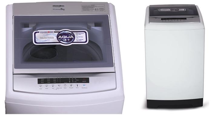 ماشین لباسشویی پاکشوما مدل WTU-8012 با ظرفیت 8کیلوگرم