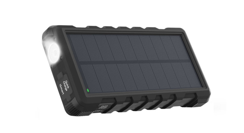 پاوربانک خورشیدی سولار RP-PB083 ظرفیت 25000 میلی آمپر