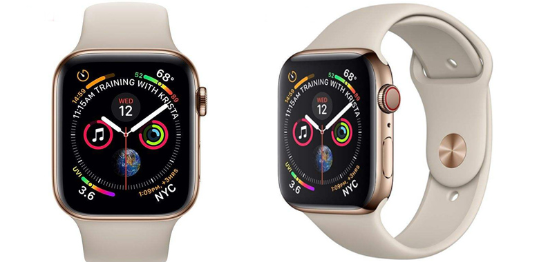 ساعت هوشمند اپل سری 4 سلولار