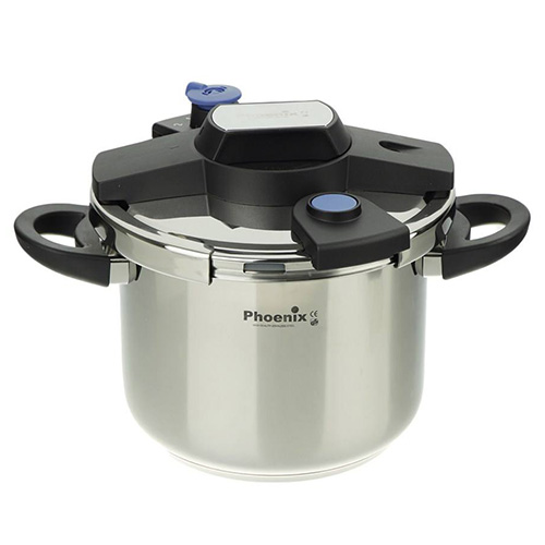 Phoenix KDS-6L Pressure Cooker Clipso Set 6 Liter