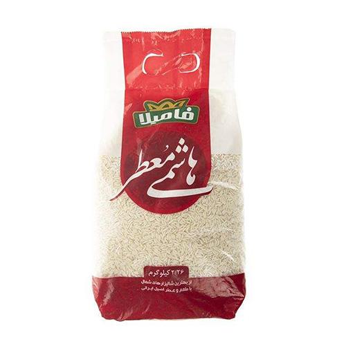برنج هاشمی معطر فامیلا وزن 2.26 کیلوگرم
