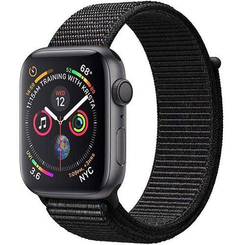 ساعت هوشمند اپل واچ 4 مدل 40mm Space Gray Aluminum Case with Black Sport Loop Band