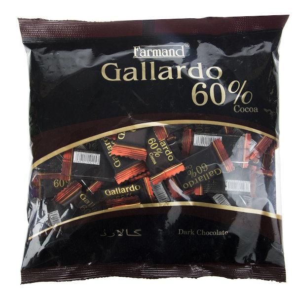 شکلات تلخ 60 درصد فرمند سری گالارد مقدار 330 گرم