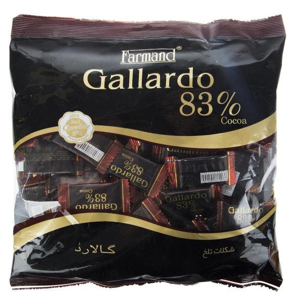 شکلات تلخ 83 درصد فرمند سری گالارد مقدار 330 گرم