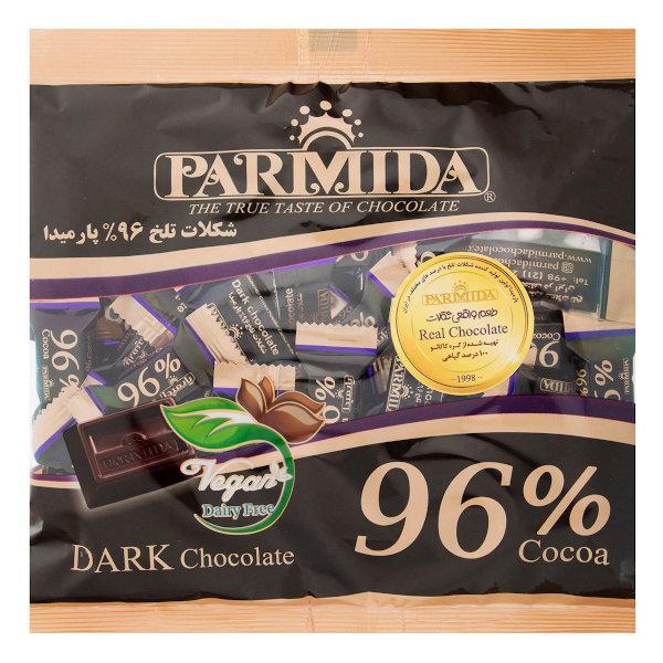 شکلات تلخ 96 درصد پارمیدا مقدار 320 گرم