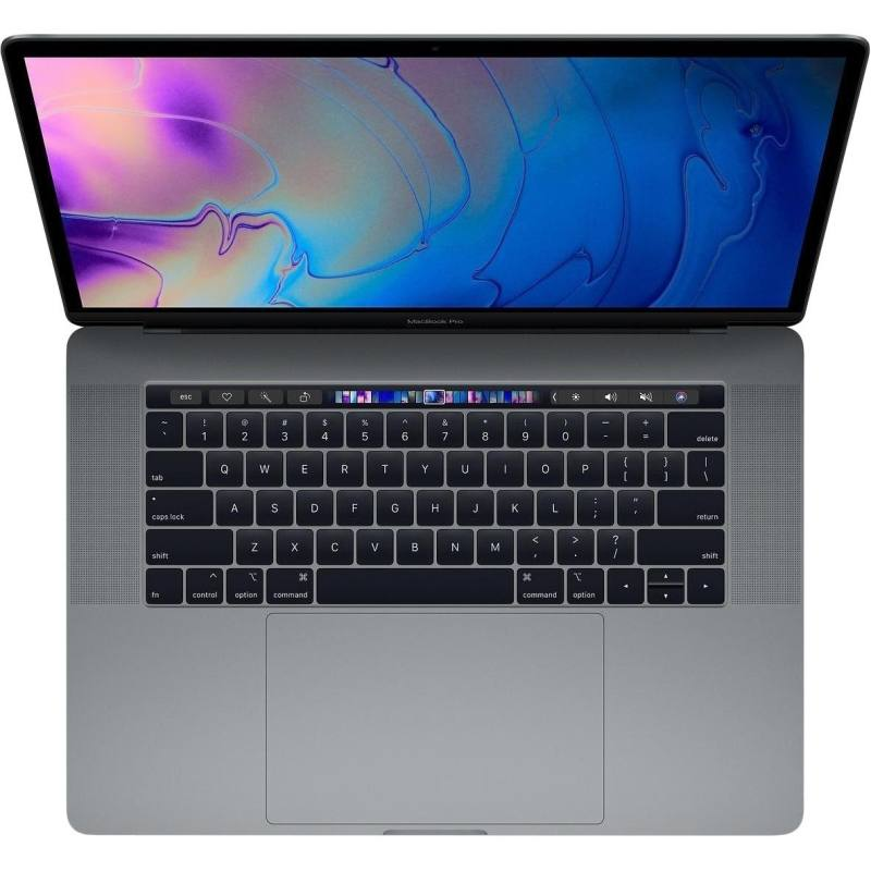 لپ تاپ 15 اینچی اپل مدل MacBook Pro MR952 2018 همراه با تاچ بار