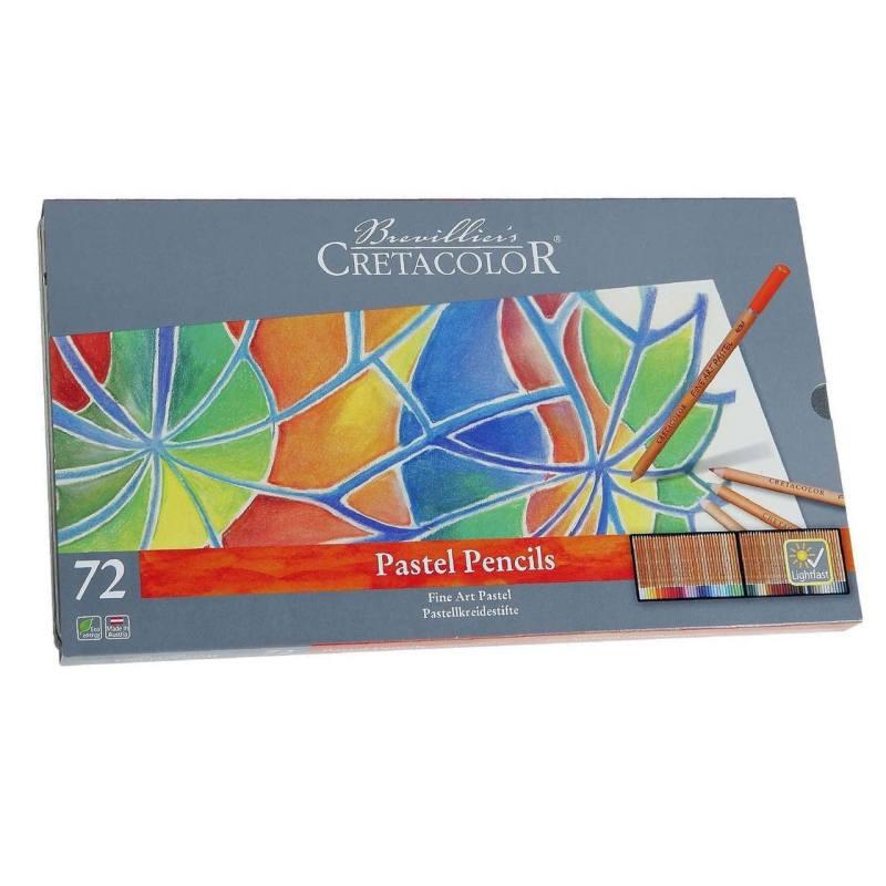 مداد پاستل 72 رنگ کرتاکالر مدل 47072