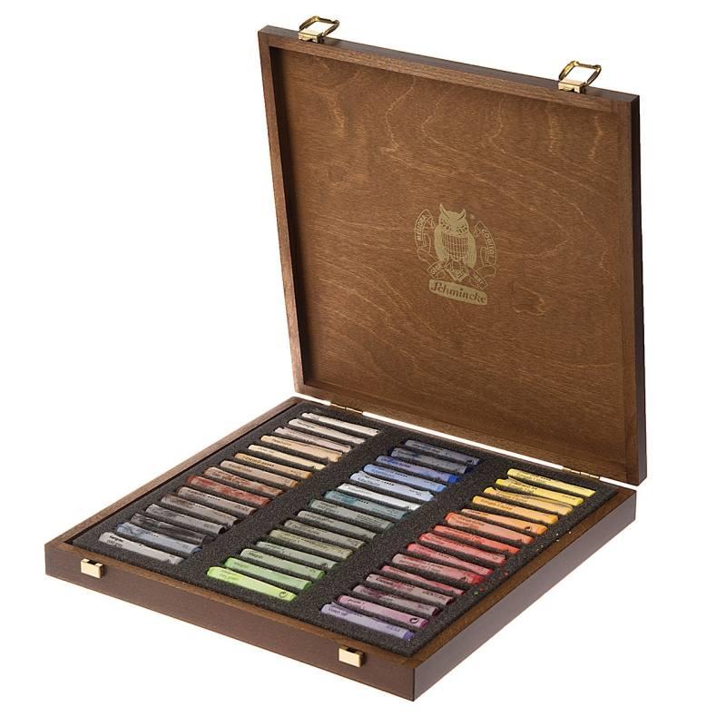 پاستل گچی 45 رنگ اشمینک کد 77245