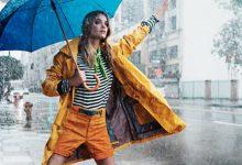 تصویر بهترین بارانی زنانه اسپرت و کلاه دار
