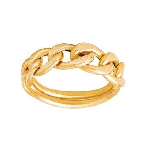 انگشتر طلا ۱۸ عیار زنانه الین گلد گالری مدل a200