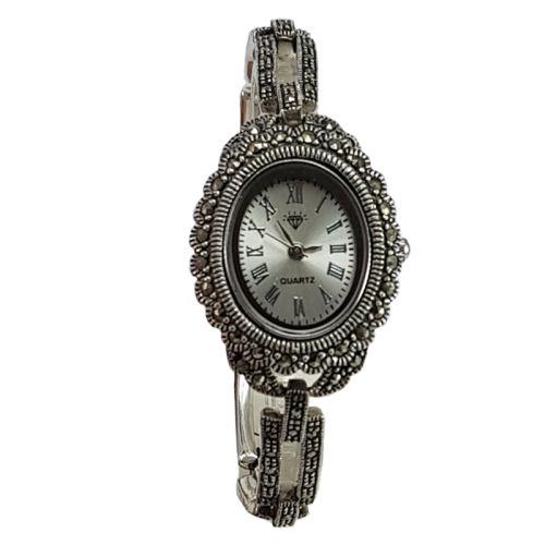 ساعت مچی عقربه ای نقره زنانه کد DN109