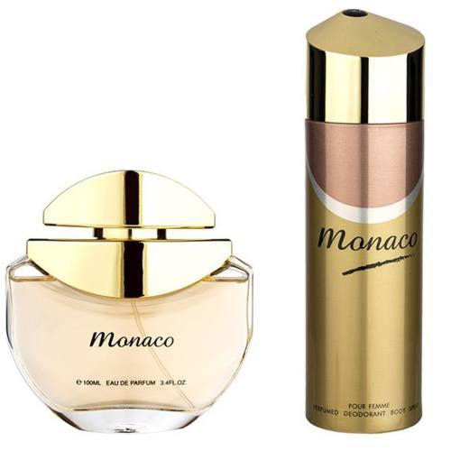ست ادکلن زنانه امپر پرایو مدل Monaco حجم 100 میلی لیتر
