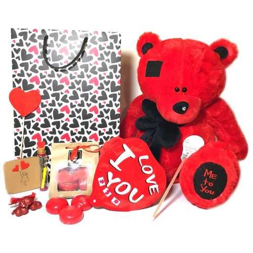 ست هدیه عروسک مدل Lovly Bear39