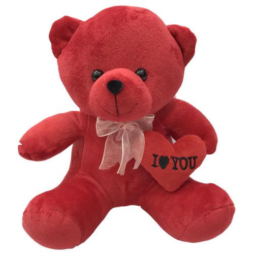 عروسک طرح خرس ولنتاین قلب بدست عاشق کد 66 ارتفاع 25 سانتی متر