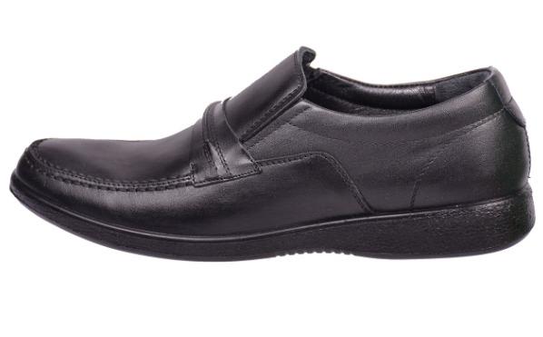 کفش مشکی طبی مردانه دکتر فام کد 1602