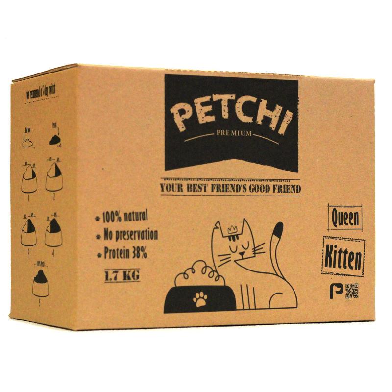 غذای خشک گربه پتچی مدل 2 Kitten وزن 1.7 کیلوگرم
