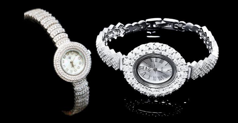 خرید ساعت مچی نقره ای زنانه شیک و ارزان قیمت