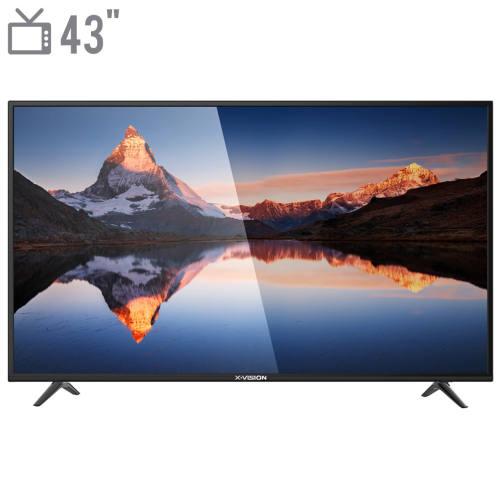 تلویزیون ال ای دی ایکس ویژن مدل 43XS412 سایز 43 اینچ