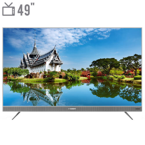 تلویزیون ال ای دی هوشمند ایکس ویژن مدل 49XTU725 سایز 49 اینچ