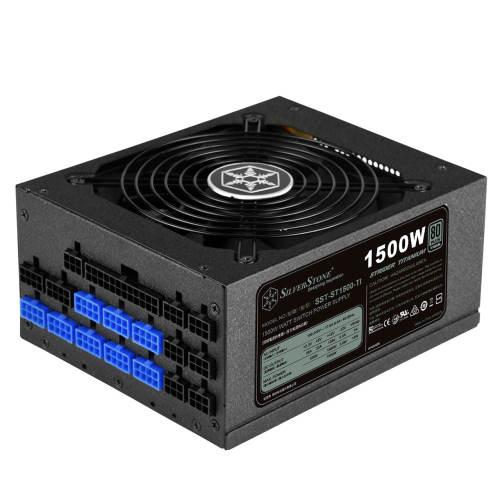 منبع تغذیه کامپیوتر سیلوراستون مدل Strider Titanium SST-ST1500-TI