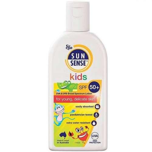کرم ضد آفتاب کودکان سان سنس مدل SPF50plus حجم 125 میلی لیتر