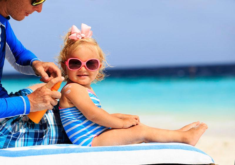 خرید ضد آفتاب کودکان