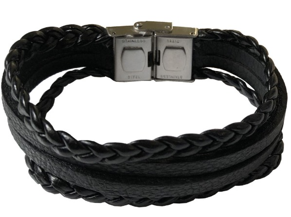دستبند چرمی نیلسا گالری کد A-101