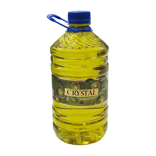 روغن زیتون تصفیه شده کریستال طلایی - 3 لیتر