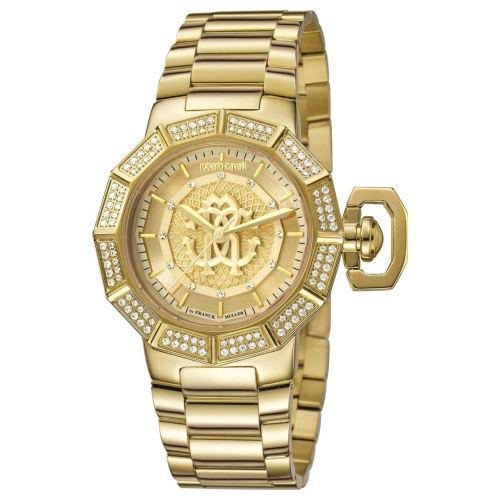 ساعت مچی عقربهای زنانه مناسب ولنتاین روبرتو کاوالی مدل RV1L003M0071