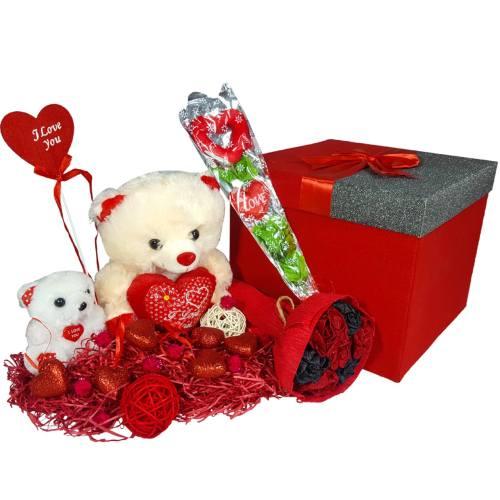 ست کادویی شیانچی طرح خرس کد 14010057 بزرگ - هدیه ولنتاین برای آقایان