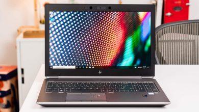 تصویر بررسی و خرید لپ تاپ hp zbook studio g5