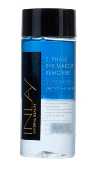 پاک کننده آرایش چشم اینلی مدل دوفاز حجم 120 میلی لیتر