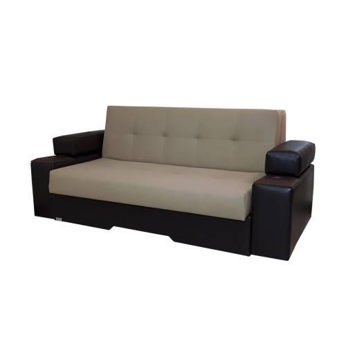 کاناپه مبل تختخواب شو ( تخت شو ، تختخوابشو ، تخت خواب شو ) دو نفره آرا سوفا مدل V23M