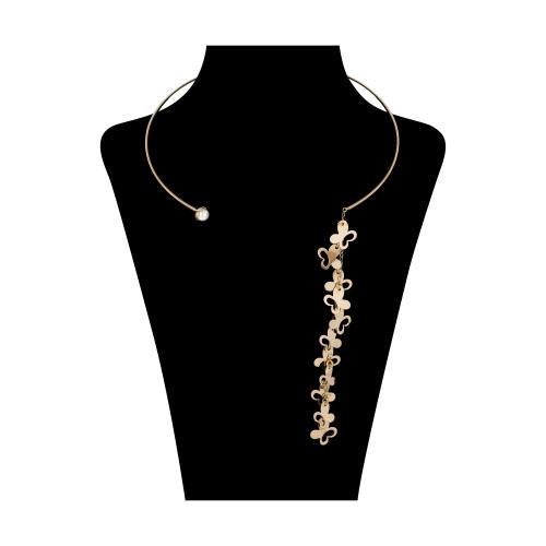 گردنبند طلا 18 عیار زنانه آلند کد AV9