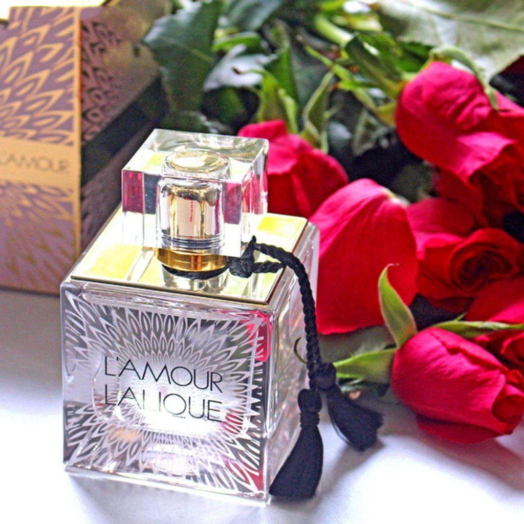 ادو پرفیوم زنانه لالیک مدل L'Amour Pink حجم 100 میلی لیتر