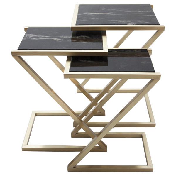 میز عسلی مدل z333 مجموعه 3 عددی