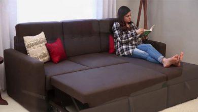 تصویر خرید 10 مدل مبل تختخواب شو یک نفره و دو نفره جدید