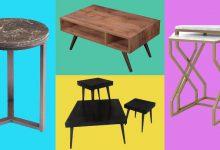 Photo of خرید 15 مدل میز جلو مبلی و عسلی شیک چوبی و سنگی