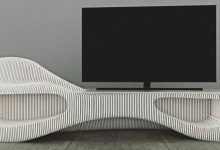 تصویر خرید 10 مدل میز تلویزیون مدرن و چوبی جدید