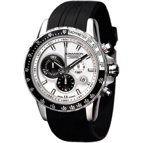 ساعت مچی عقربه ای مردانه رومانسون مدل AL0332HM1WA12W