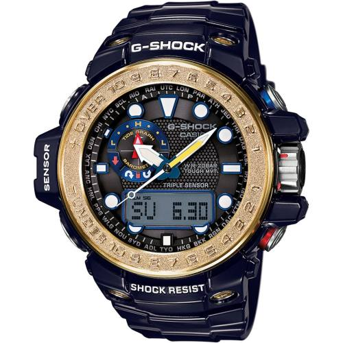 ساعت مچی عقربه ای مردانه کاسیو جی شاک مدل GWN-1000F-2ADR