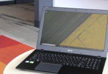 تصویر بررسی و خرید لپ تاپ ایسر aspire e5-576g-79lh
