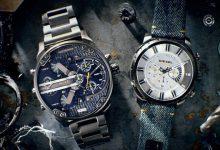 تصویر 10 مدل از بهترین ساعت مردانه دیزل اصل با بند چرم و فلزی