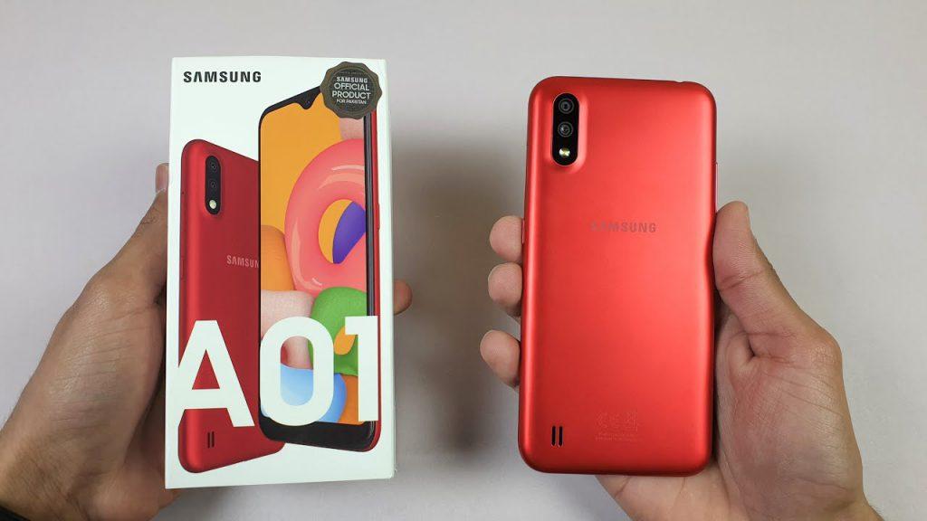 بررسی و خرید گوشی موبایل سامسونگ مدل Galaxy A01