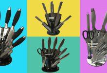 تصویر خرید سرویس چاقو ویکتوریا 9 پارچه مناسب آشپزخانه با قیمت مناسب