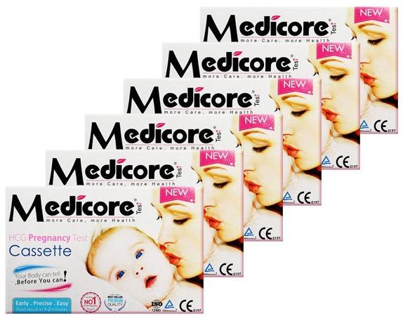 بی بی چک مدیکور مدل Cassette بسته 6 عددی