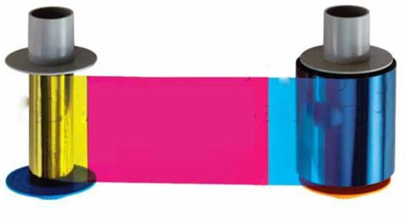 ریبون پرینتر کارت فارگو مدل 84061 رنگی YMCFK و فلورسنت